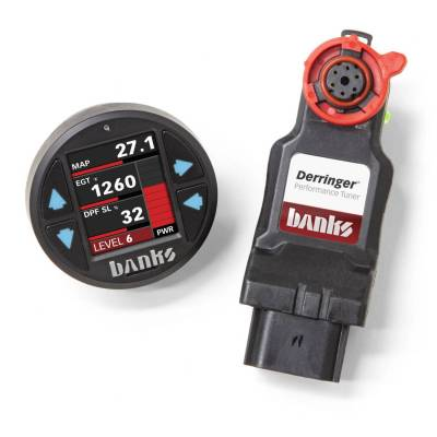 Banks Power - Derringer Tuner (Gen2), with iDash 1.8 for 2017-19 Chevy/GMC 2500/3500 6.6L L5P