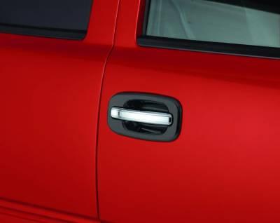 Auto Ventshade (AVS) - Auto Ventshade (AVS) CHROME DOOR LEVER COVERS-4DR 685406
