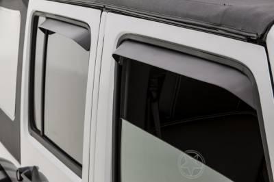 Auto Ventshade (AVS) - Auto Ventshade (AVS) VENTSHADE-4PC BLACK 34918