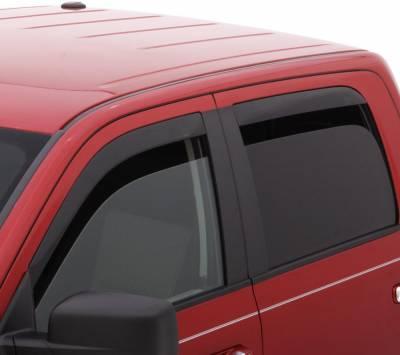 Auto Ventshade (AVS) - Auto Ventshade (AVS) LOW-PROFILE VENTVISR 4PC SMOKE 894003