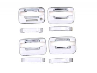 Auto Ventshade (AVS) - Auto Ventshade (AVS) CHROME DOOR HANDLE COVERS-4DR 685202