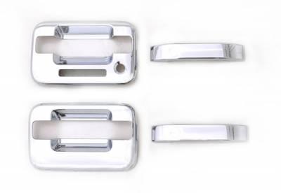 Auto Ventshade (AVS) - Auto Ventshade (AVS) CHROME DOOR HANDLE COVERS-2DR 685201