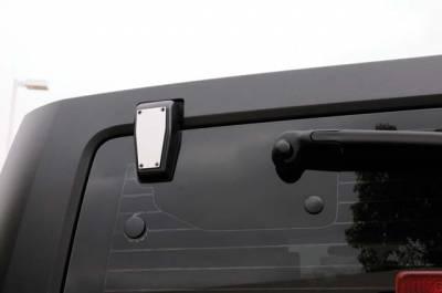 T-Rex - T-Rex T1 Series Stainless Rear Window Hinge Kit - Hard Top Wrangler 10483