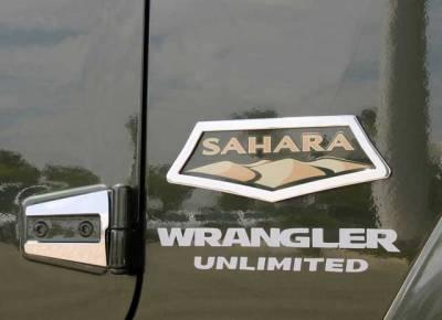 T-Rex - T-Rex 2007-2015 Wrangler Sahara  T1 STAINLESS POLISHED SAHARA 10486