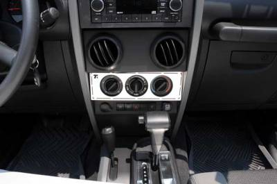 T-Rex - T-Rex 2007-2015 Wrangler  T1 STAINLESS MACHINED INTERIOR 10488