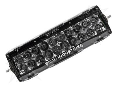 "Rigid Industries - Rigid Industries 10"" E-Series Light Cover - Clear - trim 4"" & 6"" 11092"