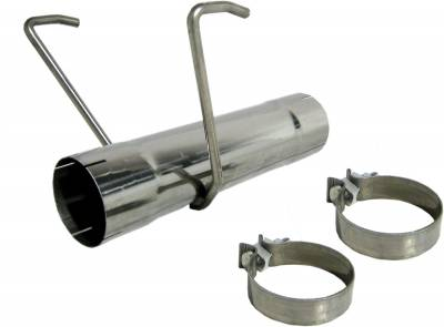 """MBRP Exhaust - MBRP Exhaust 17"""" Muffler Delete Pipe, T409 MDS9017"""
