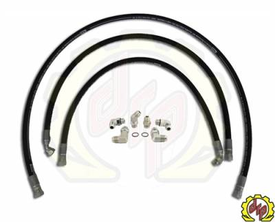 "Deviant Race Parts - Deviant 73420 High Performance 5/8"" Transmission Cooler Repair Lines for 2006-10 GM Duramax 6.6"
