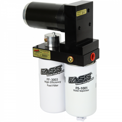 FASS Fuel Systems - Titanium Signature Series Diesel Fuel Lift Pump 250GPH GM Duramax 6.6L 2001-2016  900-1200HP