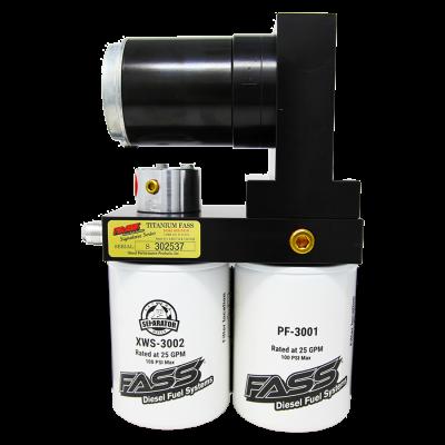 FASS Fuel Systems - Titanium Signature Series Diesel Fuel Lift Pump 165GPH GM Duramax 6.6L 2001-2010