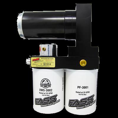 FASS Fuel Systems - Titanium Signature Series Diesel Fuel Lift Pump 290GPH GM Duramax 6.6L 2001-2016