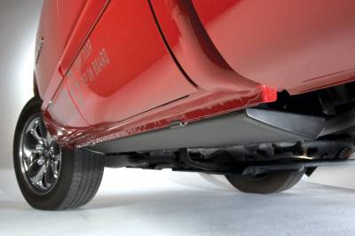 AMP Research - AMP Research 76247-01A PowerStep Electric Running Boards Plug N Play System for 2017-2019 Silverado/Sierra 2500/3500 Diesel Only, Double and Crew Cab
