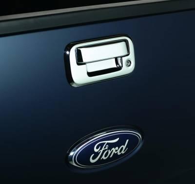 Exterior Accessories - Truck Bed Accessories - Auto Ventshade (AVS) - Auto Ventshade (AVS) CHROME TAILGATE HANDLE COVERS 686552