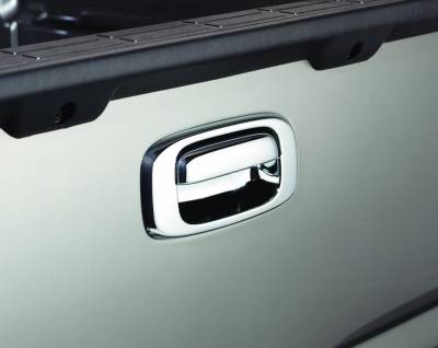Exterior Accessories - Truck Bed Accessories - Auto Ventshade (AVS) - Auto Ventshade (AVS) CHROME TAILGATE HANDLE COVERS 686557