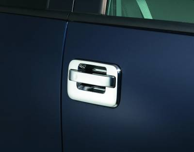 Auto Ventshade (AVS) - Auto Ventshade (AVS) AVS - CHROME DOOR HANDLE COVERS-2DR 685301