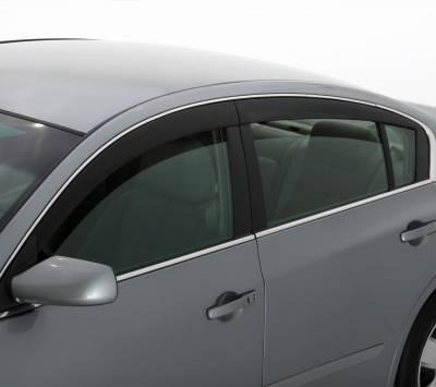 Auto Ventshade (AVS) - Auto Ventshade (AVS) LOW-PROFILE VENTVISR 4PC SMOKE 894008 - Image 3