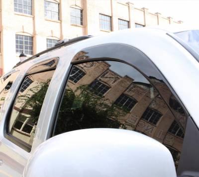 Auto Ventshade (AVS) - Auto Ventshade (AVS) LOW-PROFILE VENTVISR 4PC SMOKE 894008 - Image 4