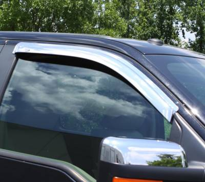 Auto Ventshade (AVS) - Auto Ventshade (AVS) CHROME VENTVISOR-2PC 682099 - Image 3
