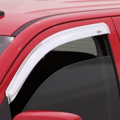 Exterior Accessories - Ventvisors/Wind Deflectors - Auto Ventshade (AVS) - Auto Ventshade (AVS) CHROME VENTVISOR-2PC 682805