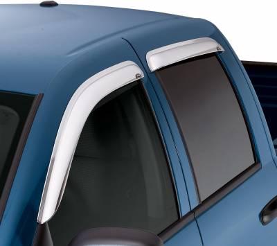 Auto Ventshade (AVS) - Auto Ventshade (AVS) CHROME VENTVISOR-4PC 684953 - Image 3