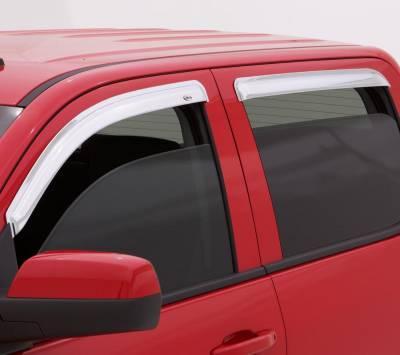 Exterior Accessories - Ventvisors/Wind Deflectors - Auto Ventshade (AVS) - Auto Ventshade (AVS) CHROME VENTVISOR-4PC 684975