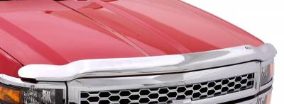 Auto Ventshade (AVS) - Auto Ventshade (AVS) CHROME HOOD SHIELD 680160