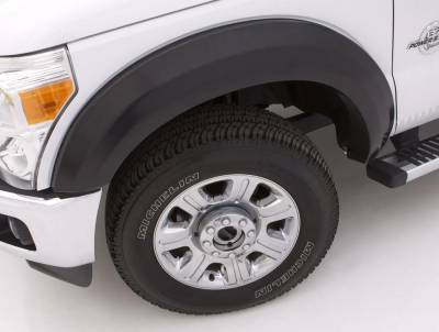 Exterior Accessories - Fender Flares - LUND - Lund EX-EXTRAWIDE STYLE 4PC SMOOTH EX113S