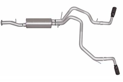 Gibson Performance Exhaust - Gibson Performance Exhaust Cat-Back Dual Extreme Exhaust System, Aluminized 5570