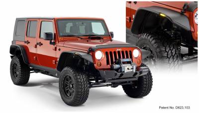 Exterior Accessories - Fender Flares - Bushwacker - Bushwacker  10918-07