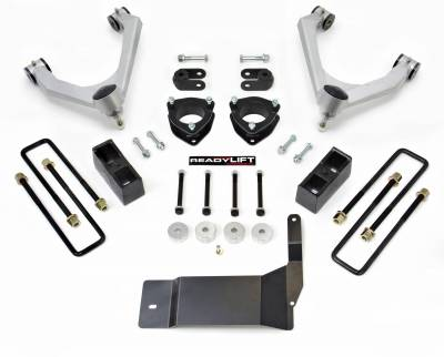 ReadyLift - ReadyLift SST LIFT KIT 4.0in. FRONT A-ARM 1.75in. REAR  KIT 69-3444