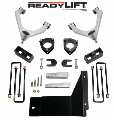 ReadyLift - ReadyLift SST LIFT KIT 4.0in. FRONT A-ARM 1.75in. REAR  KIT 69-3486