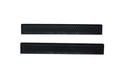 Interior Accessories - Door Sill Covers - Auto Ventshade (AVS) - Auto Ventshade (AVS) STEPSHIELD-2PC BLACK 88106