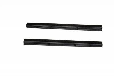 Interior Accessories - Door Sill Covers - Auto Ventshade (AVS) - Auto Ventshade (AVS) STEPSHIELD-2PC BLACK 88130