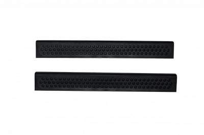 Interior Accessories - Door Sill Covers - Auto Ventshade (AVS) - Auto Ventshade (AVS) STEPSHIELD-2PC BLACK 88428