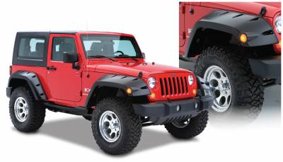 Exterior Accessories - Fender Flares - Bushwacker - Bushwacker  10045-02