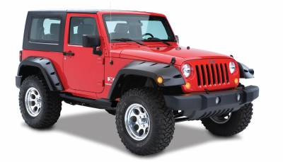 Exterior Accessories - Fender Flares - Bushwacker - Bushwacker  10046-02