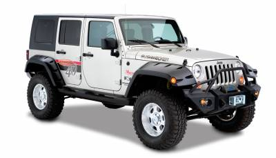 Exterior Accessories - Fender Flares - Bushwacker - Bushwacker  10044-02