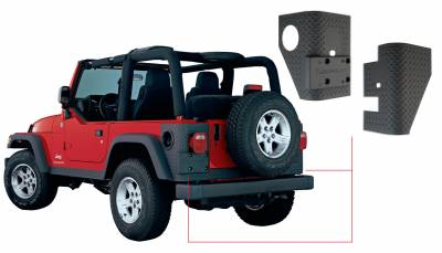Exterior Accessories - Fender Flares - Bushwacker - Bushwacker  14004