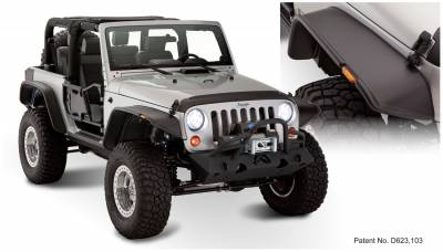 Exterior Accessories - Fender Flares - Bushwacker - Bushwacker  10919-07