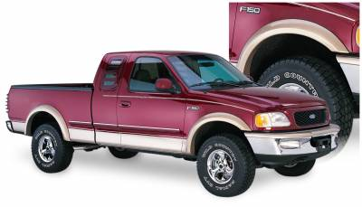 Exterior Accessories - Fender Flares - Bushwacker - Bushwacker  20033-11