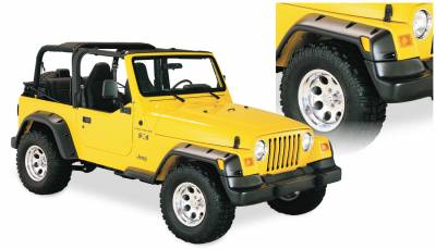 Exterior Accessories - Fender Flares - Bushwacker - Bushwacker  10913-07