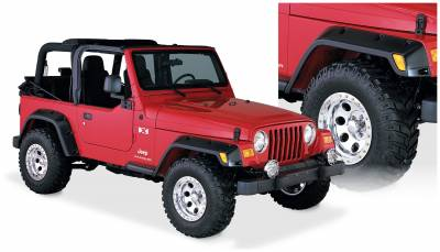 Exterior Accessories - Fender Flares - Bushwacker - Bushwacker  10917-07