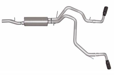 Gibson Performance Exhaust - Gibson Performance Exhaust Cat-Back Dual Extreme Exhaust System, Aluminized 5642