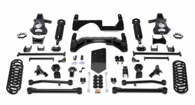 Fabtech - Fabtech 6in PERF SYS W/DLSS 2.5C/Os & RR DLSS 07-13 GM K1500TAHOE/ YUK/SUB/AVAL 4WD W/O K1021DL