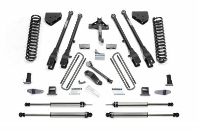 Fabtech - Fabtech 10in 4LINK SYS W/COILS & DLSS SHKS 08-10 FORD F250 4WD K2037DL