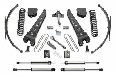 Fabtech - Fabtech 10in RAD ARM SYS W/COILS &DLSS SHKS 05-07 FORD F250/350 4WD K2048DL