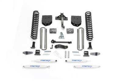 Fabtech - Fabtech 6in BASIC SYS W/PERF SHKS 08-10 FORD F450/550 4WD K2050