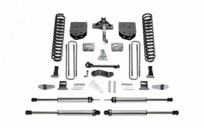 Fabtech - Fabtech 6in BASIC SYS W/DLSS SHKS 08-10 FORD F450/550 4WD K2050DL