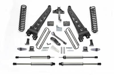 Fabtech - Fabtech 6in RAD ARM SYS W/COILS & DLSS SHKS 08-10 FORD F450/550 4WD K2052DL