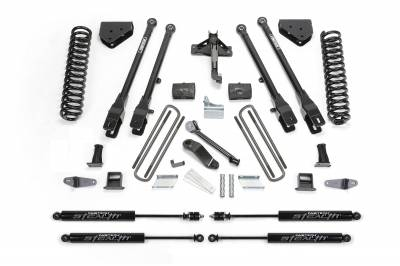 Fabtech - Fabtech 6in 4LINK SYS W/COILS & STEALTH 08-10 FORD F450/F550 4WD K2054M